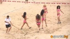 Cheerleaders of Beach Volleyball - M-Tel Beach Masters