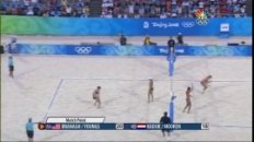 2008 Beijing Olympics Women's Beach Volleyball Pool E Match - USA vs NED