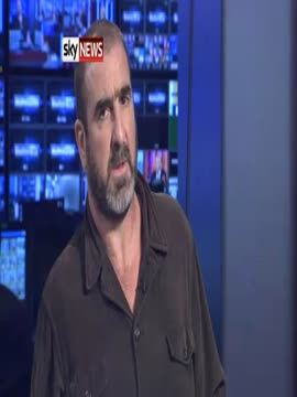 Eric Cantona Talks Football, Film And French Politics On Sky