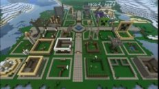 Town Lapse - How to build a town in Minecraft in 30 minutes