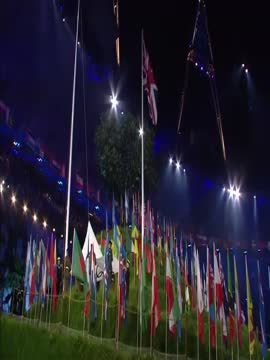 BBC London 2012 Olympics - Opening Ceremony